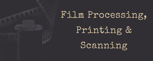 Film Processing & Printing & Scanning